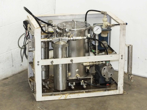 Lacquer Dispensing System w/ Chemipon Series NS Metering Pump