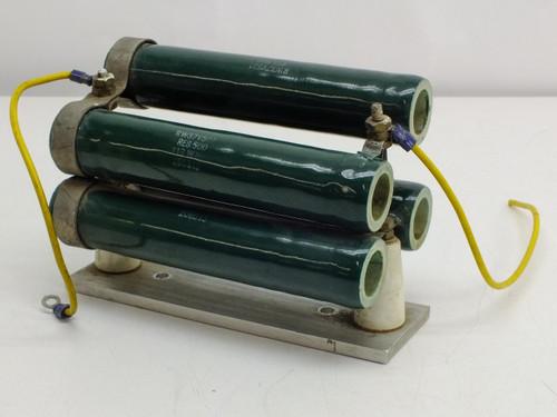 Lepel 500 Ohm Resistors 113WN 206913 Lot of 4 RW37V501
