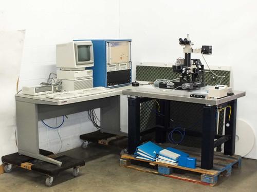 Nano Instruments Micro Indenter Control Unit w/ Microscope & HP 9153C Disk Drive