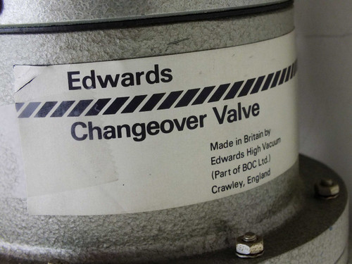 Edwards High Vacuum Valve and Vibration Isolation System Block Changeover