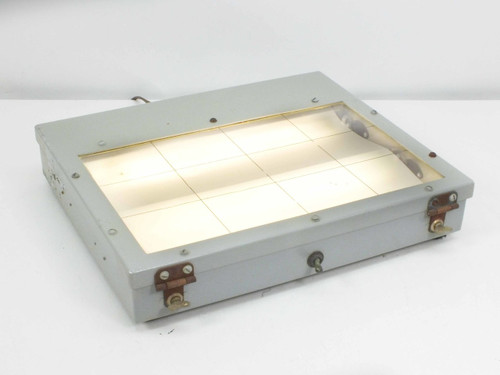 "LCD 9000-S6401-73816 11""x7"" Fluorescent Window Lighting Fixture Rev 3 Type MF-7A"