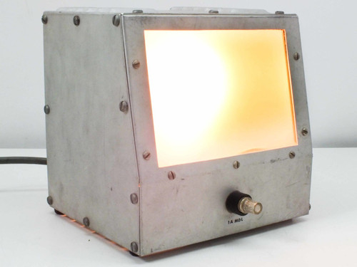 "Stainless Steel 6.5"" x 4.5"" Adjustable Voltage Light Box 100VAC"