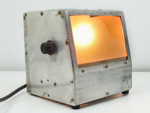 "Stainless Steele Adjustable Voltage Light Box (7"" x 4.5"")"