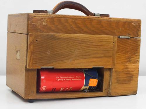 Leeds & Northrup 8667 Galvanometer Millivolt Potentiometer - Vintage Wooden Case