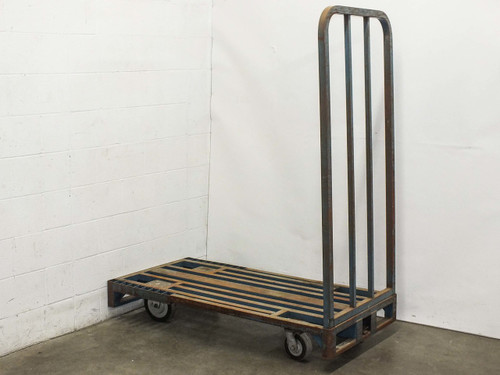 Cost Cutter Industrial Delivery Cart 29 by 59 -AS-IS Broken Weld and Bent Frame