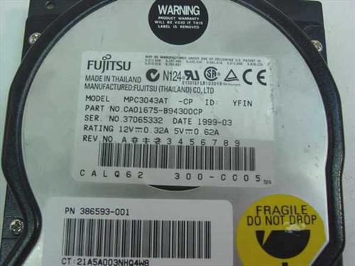 """Fujitsu 4.3GB 3.5"""" IDE Hard Drive (MPC3043AT)"""