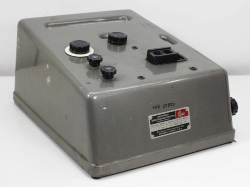 Coleman Instruments Inc D-2607 Model 14 Universal Spectrophotometer 115-8 Volts