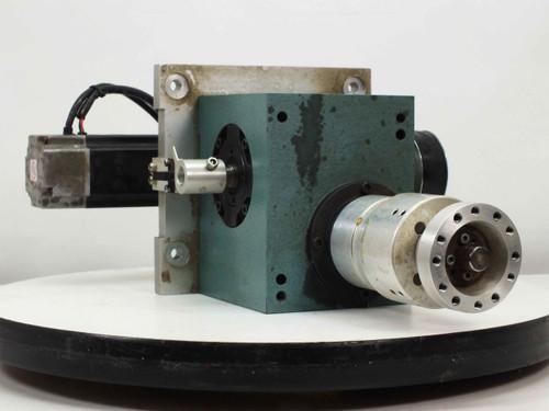 Yaskawa SGML-04AF14 AC Servo Motor Indexing Drive with BD-103-005-P110 Gear Box
