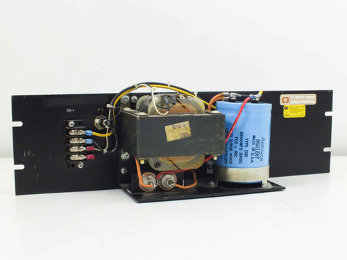 Elpac Power Systems Power Supply with Transformer 105/115/125VAC with Capacitor