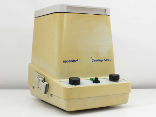 Eppendorf Variable Speed 14,000 RPM Microcentrifuge Missing Rotor Cap 5415B