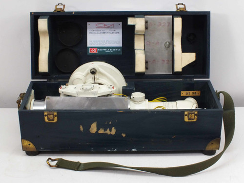 Keuffel & Esser GA-10994 Collimation Special Alignment Telescope - UHTC Coating