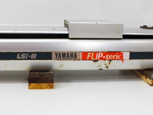 Yamaha LS1BL-850Flip-Series linear slide robot with drive motor LSi-B