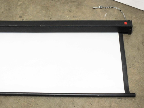 Bretford Wall Mounted Projector Screen 84 Inch by 66 Inch