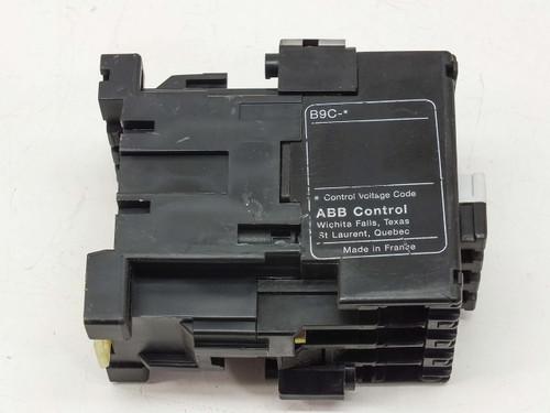 ABB B9-30-10 ABB Control Contactor Coil - 110/120VAC 21A 1NO