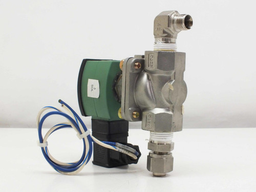 ASCO Solenoid Valve, Stainless Steel 2 Way, 1/2 pipe 11.6 WATTS  SC8210G030