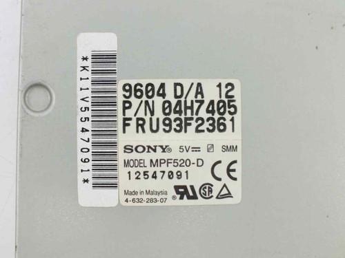 "Sony MPF520-D 1.44MB 3.5"" Floppy - IBM 93F2361 04H7405 - NO BEZEL"