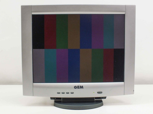 """GEM GL-JT166S 15"""" LCD Monitor VGA L51B"""
