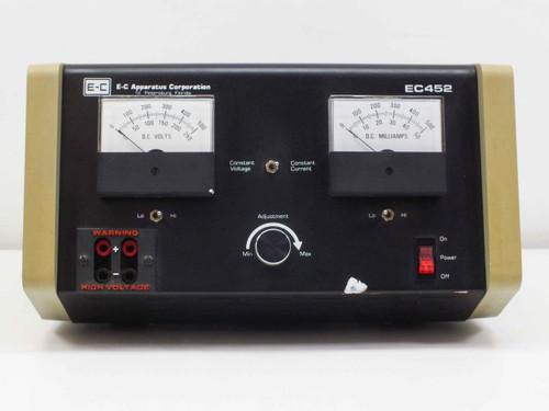 E-C Apparatus EC452 385W Electrophoresis Power Supply - Input: 115 Volt AC