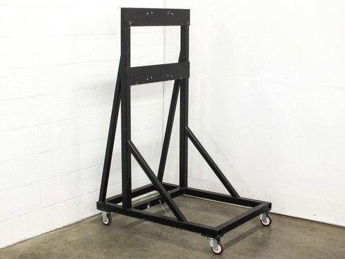 """Black Rolling Cart Chassis 42"""" x 30"""" x 63"""""""