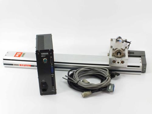 Yamaha DRC-2 Robot Motor Controller 750mm Linear Drive, Motor & Pneumatic Slide