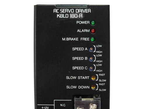 Super Vexta H0012-162AC Servo Motor with KBLD180-A Servo Driver VR6 13021 B KBLM