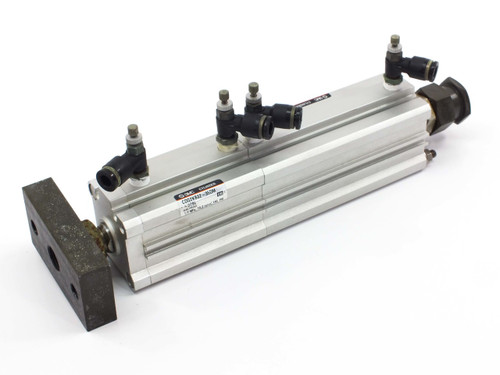 """SMC Cylinder with CDQ2KB32-35DM 10.25"""" extended length 14.00"""" CDQ2B32-60DM"""