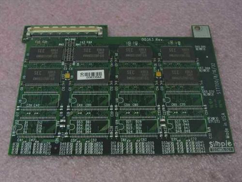 Toshiba 16MB Toshiba Memory Upgrade Tecra 700CS PA2036U