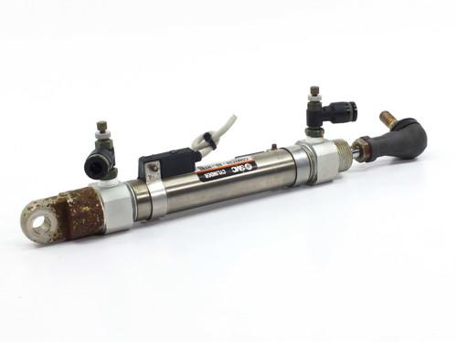 SMC CDM2C20-80 80mm Stroke Double Acting Single Rod Pneumatic Cylinder