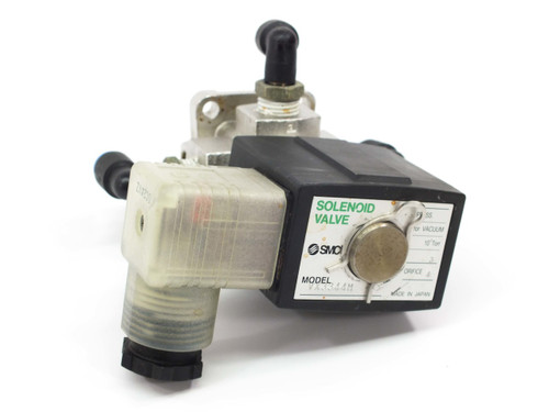 SMC Direct Operated 2-Port Solenoid Valve 1/4 FNPT Ports VX3344M
