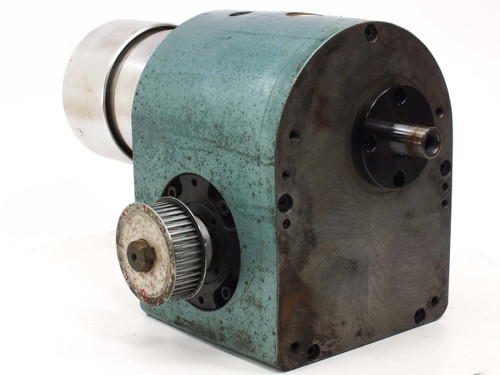 Heavy Duty 1018 BU-2AA-008-P01-0 Rotary Indexing Drive 120mm Head Dual Shafts