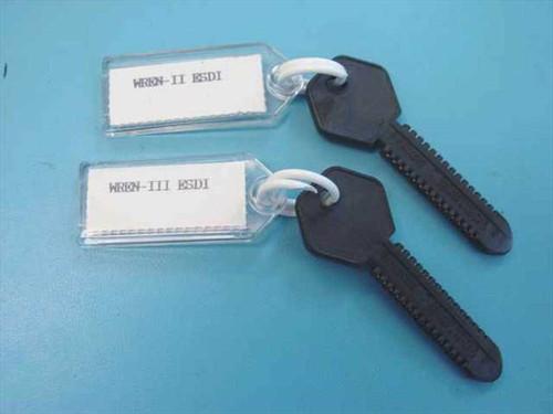 Bell Atlantic ESDI Rom Keys Set of 2 keys for MDT Tester ESDI Rom Keys