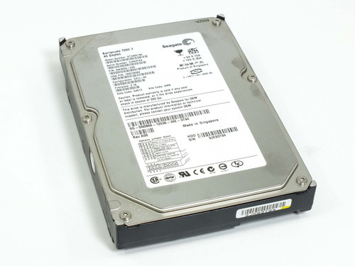 "Dell 40GB 3.5"" IDE Hard Drive by Seagate Barracuda ST340014A 9W2005-032 (N0806)"