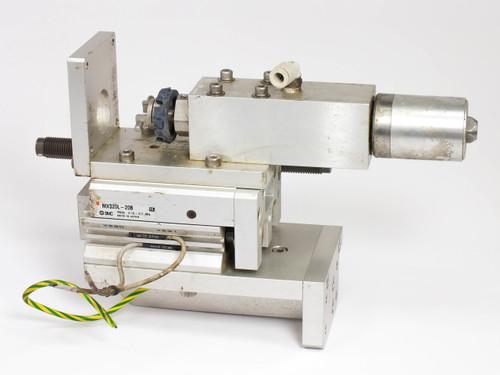 SMC MXS20L-20B Pneumatic Actuator Air Slide Table 20mm Stroke Bore 20