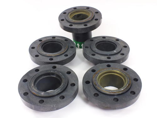"Lot of 5 Lasco Fibertuff 854-040FT Schedule 80 4"" PVC Pressure Flange Loose Ring"