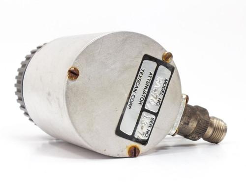 Texscan RA-70 Adjustable Step RF Attenuator SMA Connectors
