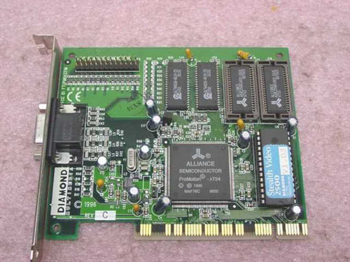 Diamond Stealth Video 2500 PCI w/Memory Slots filled (23030211-202)