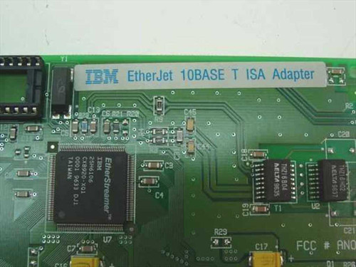 IBM 10BASE T ISA Network Adaptor Card (73G9721)