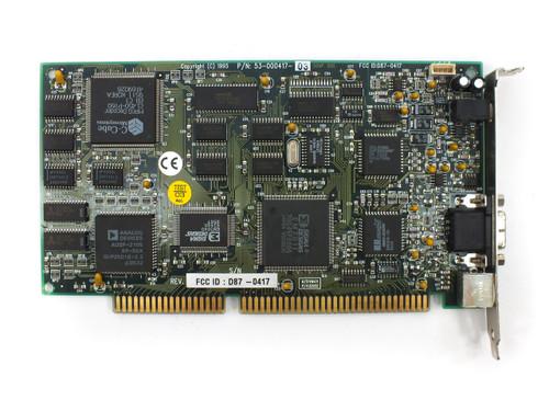 Sigma Designs 53-000417 RealMagic 16-Bit ISA MPEG Decoder Card - 8-Pin Port