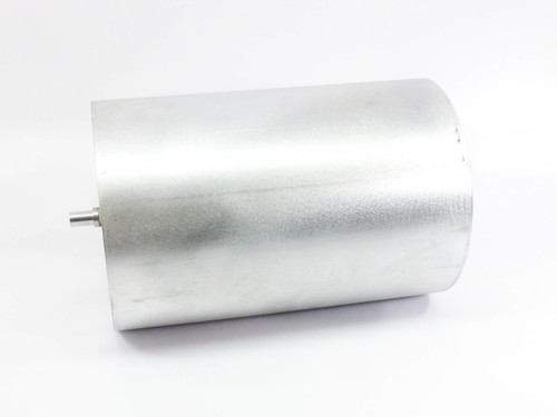 """Unbranded Aluminum 15.5 LBS Rolling Press Cylinder 10"""" Diam x 15"""" Long"""