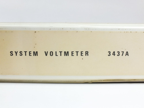 HP 3437A  System Voltmeter Operating and Service Manual