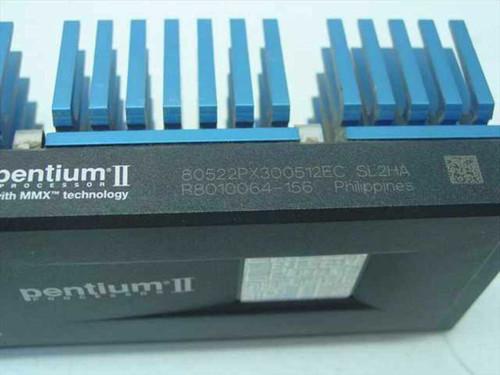 Intel 80522PX300512 Slot 1 PII 300MHz Processor 512kb Cache
