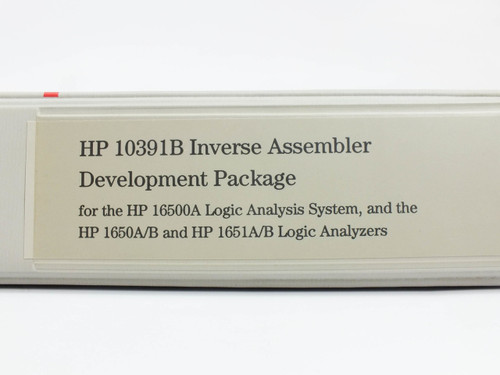 HP 10390A  System Performance Analysis Software Reference Manual