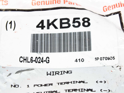 Ingersoll-Rand / ARO CHL6-024-G  4KB58 Coil / Valve Connector Cable 6' NEW