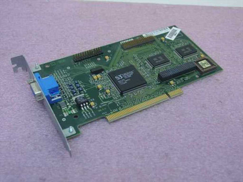 Compaq 2MB PCI Video Card Deskpro 4000 Card S3 ViRGE/GX 86C385 (296684-001)