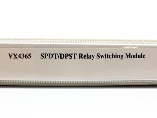 Tektronix Relay Switching Module Operating Manual VX4365