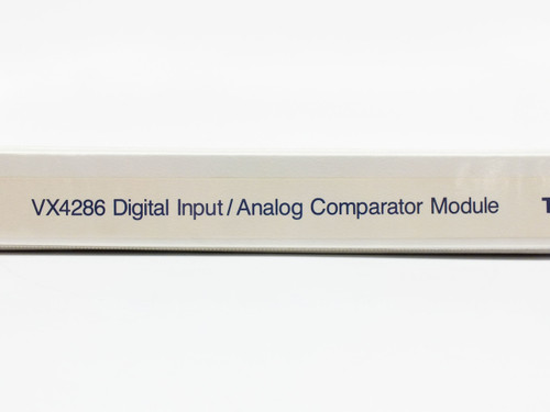 Tektronix 32-Channel Analog/Digital Input Module Operating Manual VX4286