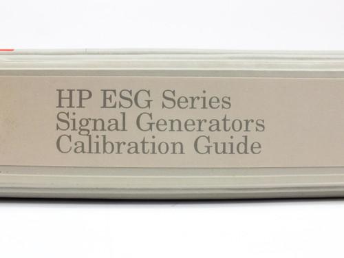 HP ESG Series  Signal Generators Calibration Guide