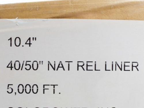 """I-Leaf Natural 10.4"""" Wide"""" x 5000' Long Natural Rel Liner Solar Panel Material"""