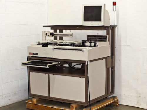 PWS P5NMS Wafer Inspection Semi-Automatic Prober Pacific Western Systems AS-IS