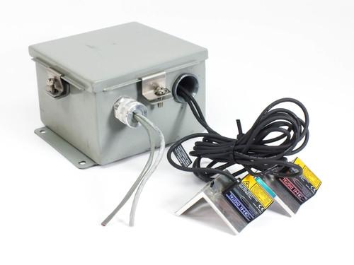 Wiegmann BN4060604CHWW Cut Out Box with 2x Keyence N-R4 RS-422A/485 Units